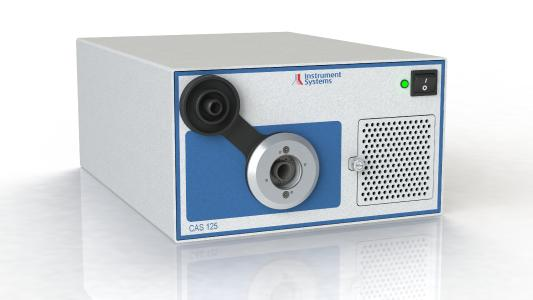 The CAS 125 spectroradiometer with CMOS sensor has been optimized for applications in production environments
