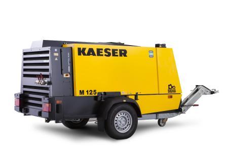 Der mobile Baukompressor M125 ist leicht für den Transport, kompakt für die Baustelle sowie leistungsstark und variabel in der Anwendung