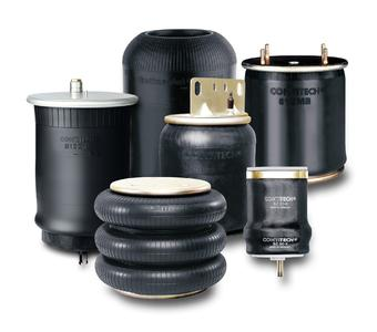 ContiTech air springs fully satisfy the requirements that commercial vehicle components must meet to cope with the Russia's climate and infrastructure. Photo: ContiTech