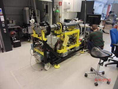 RCM - Rapid Compression/Expansion Machine zur Simulation und optischen Untersuchung innermotorischer Verbrennungsvorgänge