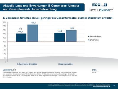 B2B E-Commerce Konjunkturindex - Betratchung