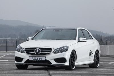 E-Class Becoming V50RS with Steel Power by VAETH