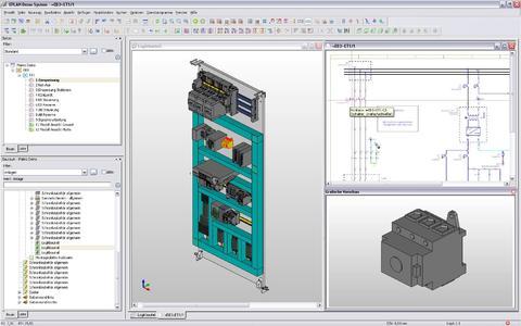 Virtuelle 3D-Prototypen sind die Basis für ein optimales Layout, korrekte Dimensionierung und passgenaue Komponenten