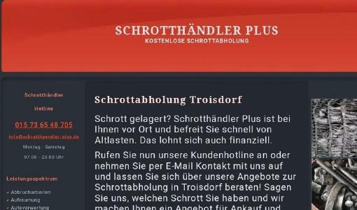 Schrott und Altmetall loszuwerden in Troisdorf