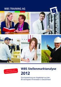 WBS Stellenmarktanalyse 2012