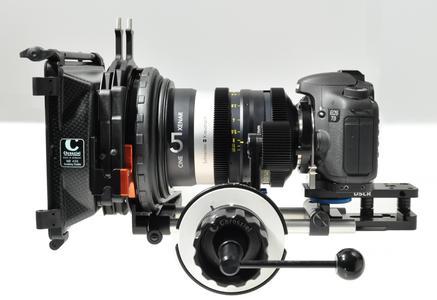 Cine Xenar an EOS 7D PL voll ausgerüstet