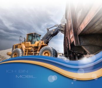Radladerkonsole XR4309 ermöglicht Industrie4.0 im Rohstoffwerk. Herstellerunabhängig kann jeder Radlader technologisch aufgewertet werden.