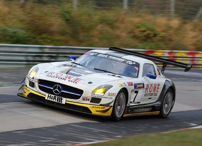 Dunlop ROWE SLS AMG GT3