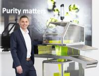 At IFFA 2019, Uli Hurzlmeier, product manager for X-rays at Sesotec, will present a design study on the RAYCON D+ X-ray scanner to encourage discussion of the features and functions that an ideal device should offer in the future. (Photo: Sesotec GmbH)