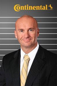 Paul Williams, Leiter von Continental Nutzfahrzeugreifen in Nord-, Mittel- und Südamerika