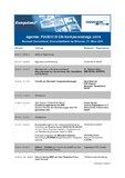 Agenda: FOODVISION-Kompetenztage 2009.