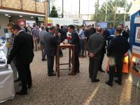 In der Begleitausstellung informierten sich die Teilnehmer über technische Präventionslösungen.
