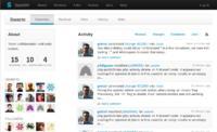 """""""Activity Streams: Der persönliche Activity Stream eines Nutzers enthält Änderungen, Kommentare und Review-Anfragen von Projekten und Personen, denen der Nutzer folgt."""""""