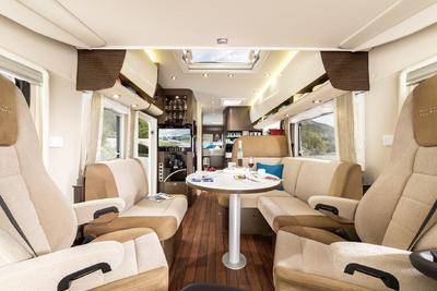 Der Credo bietet als Einstiegsmodell in die Liner Klasse großen Komfort (Foto Concorde)