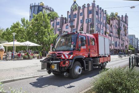ZAGRO Zweiwegefahrzeug U 423 - Schnell auf Straße und Schiene