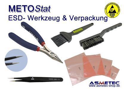 METOSTAT ESD Werkzeug und Verpackung