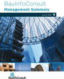 Management Summary Bau: So bleiben Sie dicht am Marktgeschehen