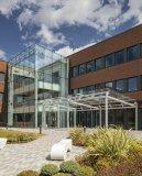 Aldi Headquarter, Atherstone, United Kingdom ©Andrew Smith, SG Photography Ltd Pilkington Optiwhite™
