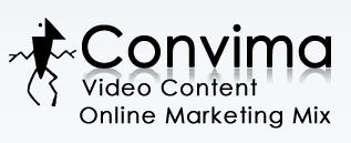 Convima - Video Content For Your Marketing Mix (Logo)