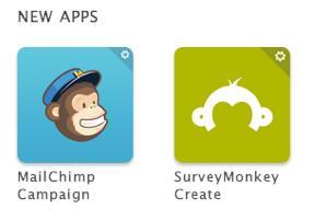 App Logos aus dem Zendesk App Marketplace