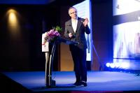 Dr.-Ing. Roland Boecking, General Manager of DVS, during his speech at the 8th Asia-Pacific IIW International Congress in Bangkok/Thailand (Source: KMUTNB)