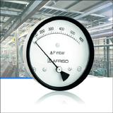 Differential pressure gauge for process engineering