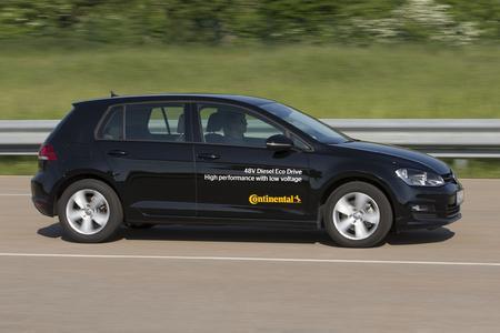 48 V Eco Drive von Continental macht Dieselfahrzeuge sparsamer und sauberer