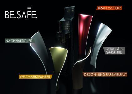 BE.SAFE. bedeutet 5-fache Sicherheit für die Gebäudehülle