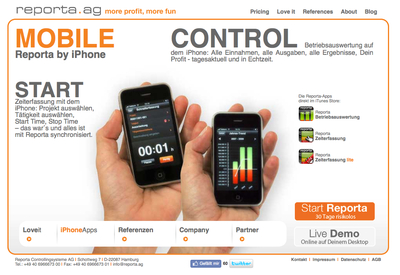 Die Reporta-Apps wurden bislang 11.111 Mal herunter geladen