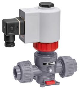 GEMÜ M75 pressure-compensated process solenoid valve