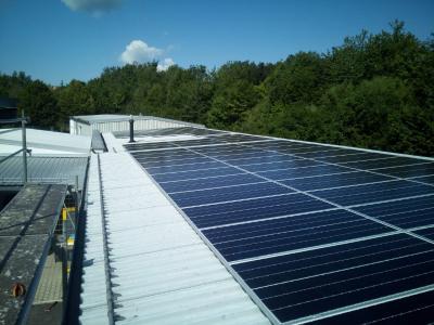 Solaranlage für industrie