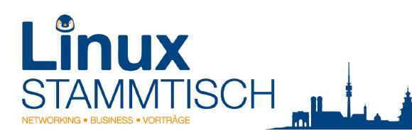 Linux-Stammtisch im Hofbräuhaus München
