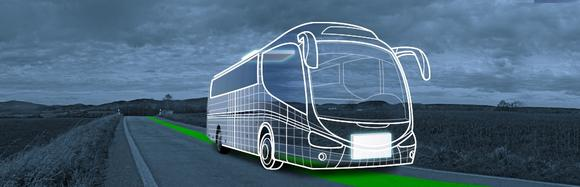 The vision of a fully electric bus (source of picture: hochform design (R))