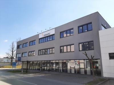 Dematic bezieht neue Räumlichkeiten in Graz und stärkt damit ihre Prä-senz am wichtigen Industriestandort Österreich. (Foto: Dematic)