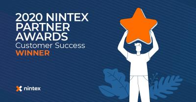Data One gewinnt Nintex Partner Award 2020 in der Kategorie Customer Success