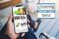 Die Wissen@AD App von DATEV eG für den Außendienst.