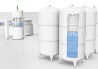 Die Sensoren bieten mit einer Messlänge von bis zu 75 Metern ein breites Einsatzgebiet: Von kleinen Abfülltanks bis hin zu großen Lagertanks ist alles möglich.