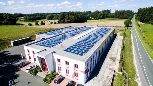 Solar auf Gewerbe