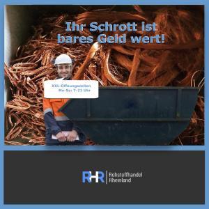 Bereitstellung von Schrottcontainern in NRW