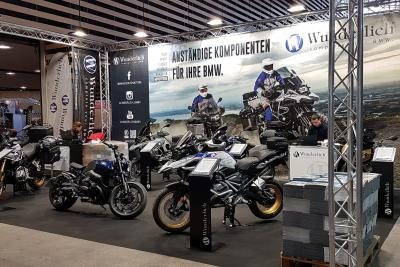 BMW accessory specialist Wunderlich at Salon du 2 Roues in Lyon 2020