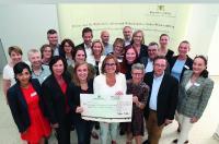 Staatssekretärin Kathrin Schütz mit Vertretern aller Welcome Center Baden-Württembergs (Bild: Ministerium für Wirtschaft, Arbeit und Wohnungsbau Baden-Württemberg)