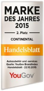 YouGov Marke des Jahres Continental