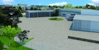 Neubau ROTON PowerSystems 3D Innenhof