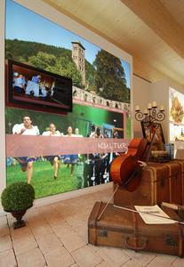 Thema Kunst und Kultur im Pavillon