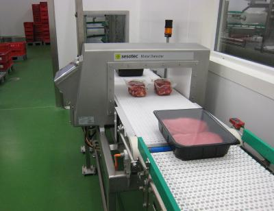Metal detection for the safety and purity of meat products