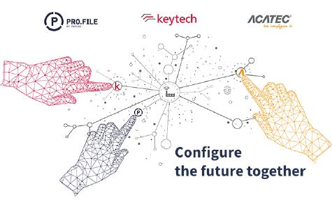 Configure the future together - PROCAD, keytech and ACATEC join forces to become the leading digital transformation provider for the manufacturing industry