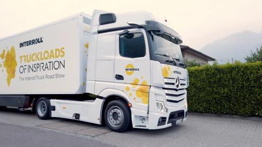 Truckloads of Inspiration: Interroll reengages with customers, partners and users with face-to-face, on-site events across Europe