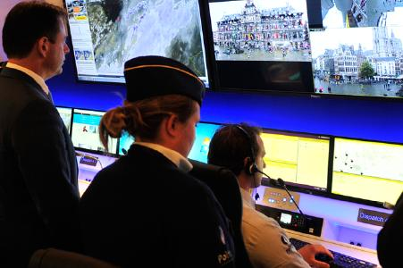 IHSE KVM-System unterstützt Polizei in Antwerpen