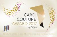 Card Couture Award 2017 by FEDRIGONI