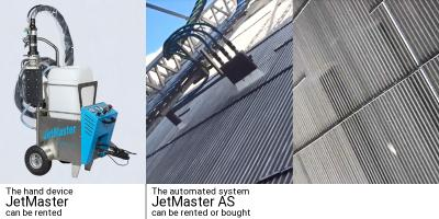 Reduction of energy costs by using JetMaster